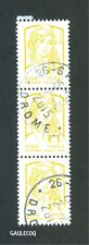 FRENCH POSTAGE - MARIANNE & LA JEUNESSE - 2013 LINE OF 4 x 0,01€ STAMPS LE POSTE