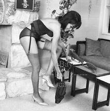 1960s Negative, sexy black pin-up girl Rhetta Slade, cheesecake t48099