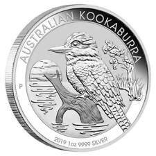 Australien 1 Dollar 2019 - Kookaburra - 1 Oz Silber ST