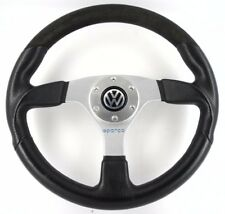 Genuine SPARCO L505 ALCANTARA, VOLANTE IN PELLE. VW GOLF, POLO 16 V GTI 8 A