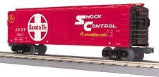 MTH 30-74740, O Scale, 40' Box Car - Santa Fe - Shock Control