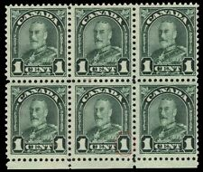 """CANADA 163ii - King George V """"Arch"""" Major Re-entry Position 96 (pf87159)"""