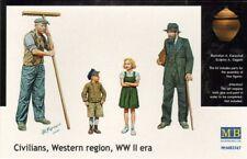 Master Box 1/35 civiles región oeste época Segunda Guerra Mundial # 3567