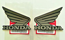 ORIGINAL Honda Wing Flügel CBR 500R-TANK Aufkleber-9,5cm-MATGUNPOWDER-Sticker-95