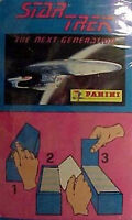 1990s Star Trek Next Generation Panini Sealed Box of 200 Stickers w Album