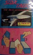 1990s Star Trek Next Gen Panini Sealed Box Stickers w Album- FREE S&H