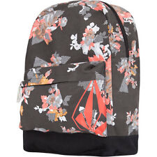 Volcom Going Study Backpack Flower School Book Bag Girls Multi NEW NWT Floral
