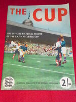 THE CUP - OFFICIAL PICTORIAL RECORD OF THE FA CUP  64pp