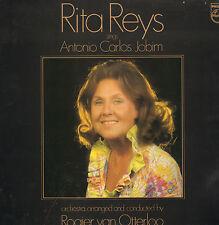 RITA REYS - ANTONIO CARLOS JOBIM (DUTCH JAZZ  LP + AUTOGRAPHS)