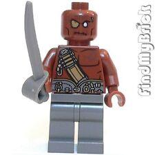 PM103 Lego Pirates of the Caribbean Gunner Zombie Henchmen Minifigure 4195 NEW