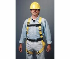 Miller Full Body Harness with Back D-Ring and 6 Ft Lanyard 216WLS/6FTYL - Small
