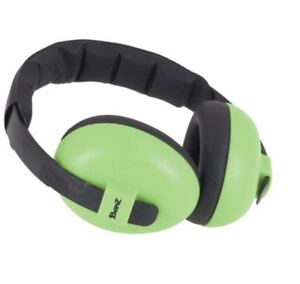 New Baby Banz Bubs Earmuffs Lime 3 Months -2 Years