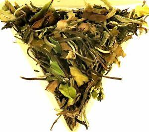 Pai Mu Tan White Tea High Grade 6901 Fuding Loose Leaf White Peony Green Tea
