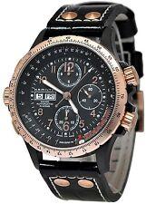 Hamilton Khaki X-Wind Leather Automatic Chronograph Mens Watch H77676733