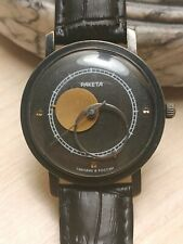 Ussr Watch RAKETA COPERNIC COPERNICUS KOPERNIK Black SERVICED