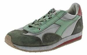 diadora heritage Equipe H Dirty Stone Wash Evo - Shale Green