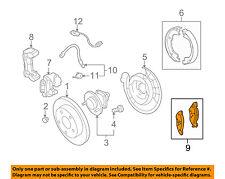 GM OEM Brake-Rear Pads 20801538