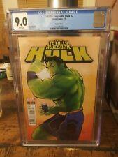 Totally Awesome Hulk #2 CGC 9.0 Afua Richardson Variant
