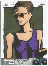 Terminator 2 Judgment Day Sketch Card drawn by Bruce Gerlach