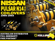 YELLOW-SPEED RACING COILOVERS Nissan Pulsar N14 inc SSS 91-94 yellowspeed