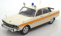 ROVER P6 POLICE CAR CLASSIC DIECAST MODEL GOOD DETAIL 1:18 SCALE RARE BOXED NEW