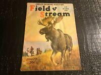 OCT 1942 FIELD AND STREAM hunting fishing magazine
