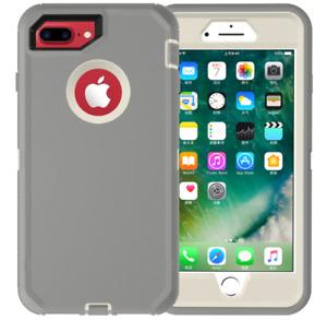 For Apple iPhone 7/8 Plus Hard Case Hybrid Defender Slim Soft TPU Phone Cover