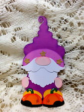 Magical Gnome Embellishment paper piecing Premade Scrapbook Pages