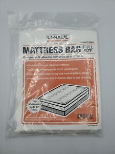 """Full Size Pillow Top Mattress Bag up to 17"""" NEW in Packaging  Moving / Storage"""