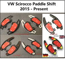 VW Scirocco 2015 2016 2017 Pala Cambio Aggiunte Flap Sterzo Comandi Cambio 7gti