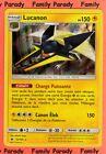Lucanon Holo 150pv 52/149 Soleil et Lune Carte Pokemon Rare neuve fr