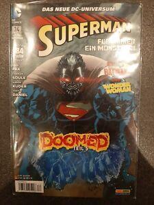 Superman - Das neue DC-Universum - Heft 34 - April 2015 - Sehr guter Zustand