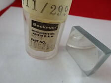 BECKMAN INSTRUMENT SPECTRAL OPTICAL CONCAVE MIRROR LASER OPTICS #L2-B-14