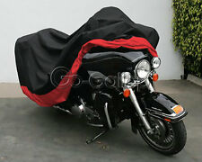 XXXL Red/Black Motorcycle Cover Fit Honda Gold Wing GL 1000 1100 1200 1500 1800