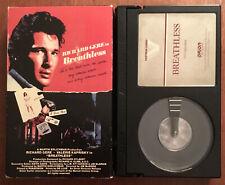 Breathless - 80s Romantic Drama Movie (Betamax, 1983) Richard Gere  RARE HTF