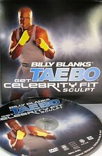 Billy Blanks TaeBo Get Celebrity Fit -Sculpt DVD, Fitness Burn fat, Workout
