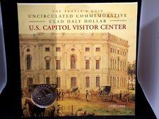 "2001 ""P"" US Capitol 200th Anniversary BU Commem Half Dollar ECC&C, Inc."