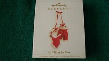 Hallmark Ornament  2006 A HOLIDAY FOR TWO