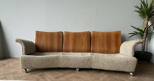 G PLAN VINTAGE TULIP 3 SEATER SOFA SETTEE & ARMCHAIR UPHOLSTERY PROJECT DELIVERY