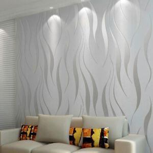 Silver Grey Wallpaper Plain Luxury Glitter Metallic Modern Shiny Various Designs