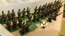 15mm lot metal minitures NAPOLEONIC RUSSIAN BASED painted 20mm