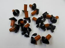 "15  Mushroom Style Tire Repair Insert Plugs 7/16""  Plug Orange"