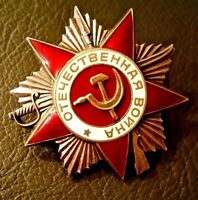 MEDAL RUSSIAN SOVIET Order of the Patriotic War Original GENUINE