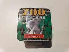 Elephant Zoo Benders Posable Magnetic Toy & Collectible Tin by Hog Wild Toys NEW
