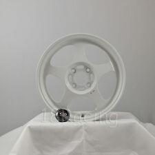 ROTA WHEEL SLIPSTREAM 15X6.5  4x100 40 67.1 WHITE CIVIC INTEGRA MIATA XA XB