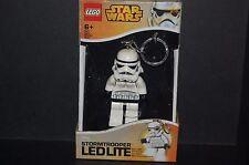 Porte clés lampe  Lego Star wars Neuf Modèle Storm trooper
