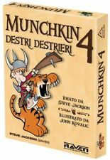 MUNCHKIN 4 DESTRI DESTRIERI - Gioco da Tavolo Espansione ita RDMU04 by Raven