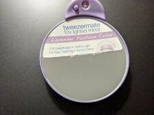 Tweezermate 10X Lighted Mirror Lavender Color