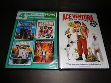 4 MOVIE FAMILY COMEDY COLLECTION & ACE VENTURA JR PET DETECTIVE-5 funny movies