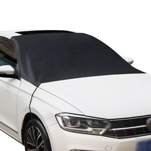 Car Windshield Snow Sun Cover Foldable Shield Frost Dust Removal Truck Van SUV